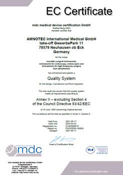 DokumentenBild zu Council Directive 93/42/EEC