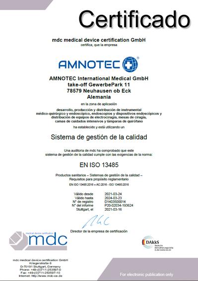 DokumentenBild zu DIN ES ISO 13485-2016