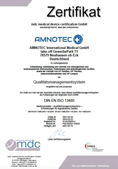 DokumentenBild zu DIN EN ISO 13485-2016
